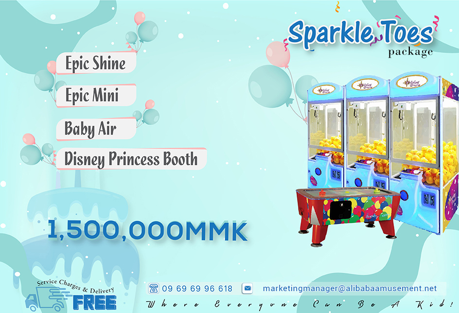 Sparkle Toes Package