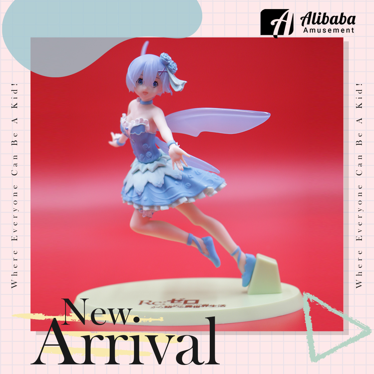 """""""Re:Zero -Starting Life in Another World-"""" Figure """"Rem"""" Fairy Ballet"""